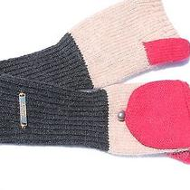 Laundry-by-Shelli-Segal-Color-Block-Convertible-Mittens-Nwt-One-Size Photo