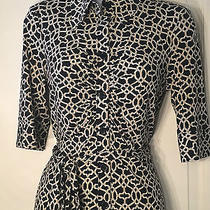 Laundry by Shelli Segal Dress. Button Down Cute Work Dress Size 4 Photo