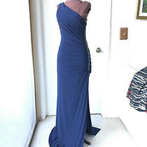 Laundry by Shelli Segal Midnight Blue Gown Photo
