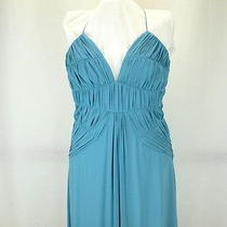 Laundry by Shelli Segal Robins Egg Strappy Gown 10 Nwt Gorgeous High End Dress Photo