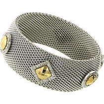 Laundry by Shelli Segal Silver Tone Mesh Bracelet Photo