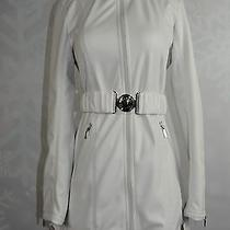 Laundry by Shelli Segal Size S Cloud Colored Long Softshell Jacket  Nwd  Photo