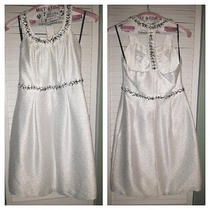 Laundry by Shelli Segal White Dress (Size 0) Photo