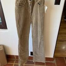 Laundry by Shelli Segal Women's Corduroy Pants Size 8 Nwt Photo