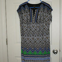 Laundry by Shelli Segal Womens  Sleeveless Sleeve  Dress Multi Color Size S Photo
