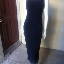 Laundry Long Black Formal Dress S 6 Photo