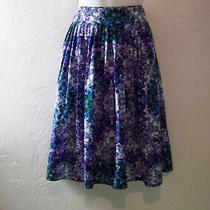 Laundry Shelli Segal Skirt & Liz Claiborne Skirt M Size 8 - Lot of 2 Photo