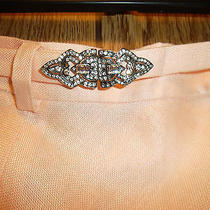 Lauren by Ralph Lauren Beautiful Pink Skirt Belted With Rhinestones Classy Photo
