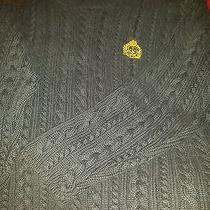 Lauren by Ralph Lauren Blue Cable Knit Sweater Photo