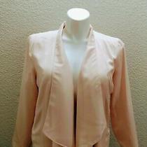 Lauren Conrad Blush Pink Blazer Shawl Collar Size 16 Xl Plus Size  Photo