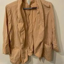 Lauren Conrad Light Pink Blush Blazer Size 16 Photo