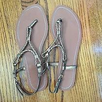 Lauren Ralph Lauren Antique Gold Sandals Photo