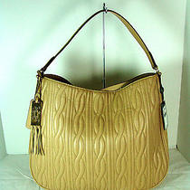 Lauren Ralph Lauren Banbury Quilted Hobo Adobe Nwt  1551 Photo