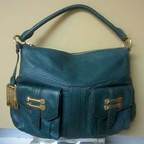Lauren Ralph Lauren Bermondsey Leather Hobo Handbag - Evergreen Photo