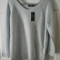 Lauren Ralph Lauren Blue Classic Xl Womens Sweater  Photo