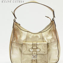 Lauren Ralph Lauren Governor's Lodge Zip Hobo Purse Handabg Bag 248 Sale Photo