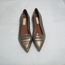 Lauren Ralph Lauren Metallic Snake Mink Shoes Photo