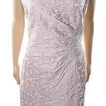 Lauren Ralph Lauren New Blush Pink Women Size 16 Textured Sheath Dress 169 004 Photo