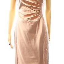 Lauren Ralph Lauren New Pink Blush Womens Size 8 Sheath Satin Dress  194 206 Photo