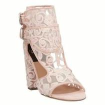 Laurence Dacade Womens Rush Mesh Open Toe Casual Mule Sandals Blush Size 8.0 Photo