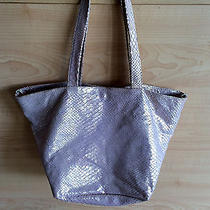 Laurent Effel St Barth by Xxi Sccolo Italy Rose Gold Hobo Handbag Purse Photo