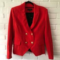 Laveer Kadette Bnwt Red Blazer Jacket Uk 10 Us 6 Photo