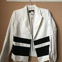 Laveer Women's Blazer Jacket Black White Size 2 Nwt  530 Photo