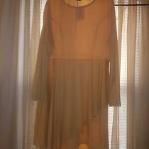 Lavishe 1xl Yellow Dress Asymmetrical Hem Bloom Chic Nwt Photo