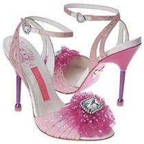 Layla Pink Betsey Johnson Heels 6 Photo