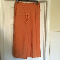 Lc Lauren Conrad Womens Size Large Blush Rush Belted Wide Leg Pants New Msrp 50 Photo