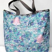 Le Lesportsac Alice in Wonderland Forest Zip Tote Disney Mary Blair Photo