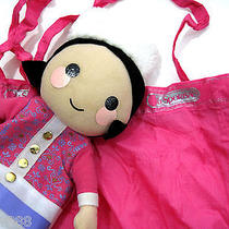 Le Lesportsac Disney It's a Small World Doll Tote Unicef Nwt Photo