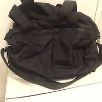 Le Sport Sac Black Diaper Bag.  Photo