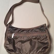 Le Sport Sac Crossbody Bag Purse Tan  Photo
