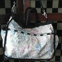 Le Sport Sac Ryan Diaper Bag.  Gender Nuetral Print. Euc Photo