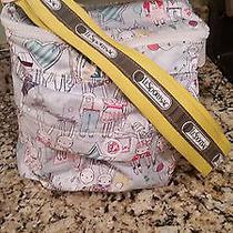 Le Sportsac Artist in Residence Rare Diaper Bag/messenger Bag Purse  Photo