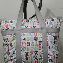 Le Sportsac Baby Diaper Bag Crossbody Shoulder Tote Alphabet Photo