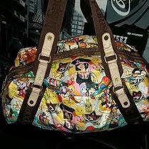 Le Sportsac by Tokidoki Rare Collectible  Pirate Large Tote Shopping Bag  Photo