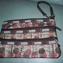 Le Sportsac Cosmetic Bag/ Wristlet  Size 9 X 6