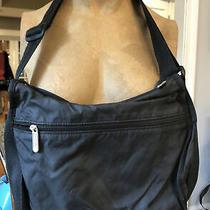 Le Sportsac Crossbody Black Bag Purse Pocketbook as Is Photo