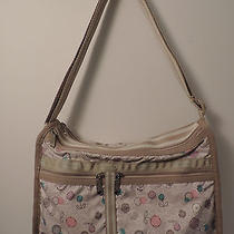 Le Sportsac Deluxe Everyday Bag With Pouch Expandable Crossbody Print Is Bubbles Photo