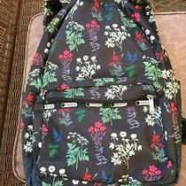 Le Sportsac Flowerbed Floral Essential Laptop/school Bag Photo