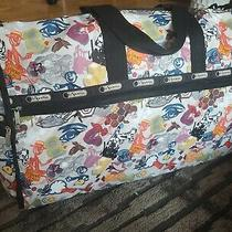 Le Sportsac Jumbo Weekender Duffel Carryon Bag Tote Shopper 20x9.5x13  Pouch Photo