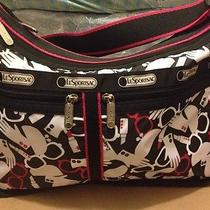 Le Sportsac Powder Room Deluxe Everyday Bag/purse Nwt     Lesportsac Photo
