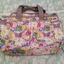 Le Sportsac Ryan Baby Bag Hope Garden Diaper Bag Tote Photo