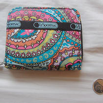 Le Sportsac Wallet in Bright Fun Colors Photo