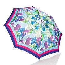 Leaf Print Umbrellaw/storage Casecheery Colors for a Rainy Day Photo
