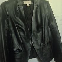 Leather Black Lamb Leather Jacket Reduced to Sell Photo