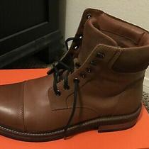 Leather Boots Mens Brown Express Photo