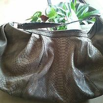 Leather  Calvin Klein Hobo W/ Cell and Lipstick Compartment Photo